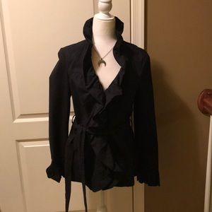 Pre-owned Inc. ruffle collar jacket